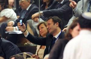 PHOTOS : Arthur fan de... Nicolas Sarkozy en Israël !