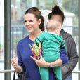 Jennifer Garner emmène le petit Samuel chez le médecin en compagnie de Seraphina, le 5 octobre 2012 à Los Angeles