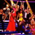 Marie-Claude Pietragalla et les trois jurés dansent dans le premier numéro de Danse avec les Stars 3, samedi 7 octobre 2012 sur TF1