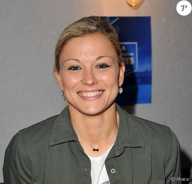 Laure Boulleau lors de la soirée de lancement du Playstation Foot 5 au bar Le Players le 9 octobre 2012 à Paris