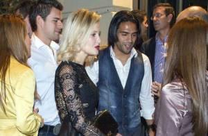 Falcao : Sortie amoureuse avec sa belle Lorelei pour l'autre star de Madrid