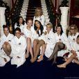 Les douze épouses et compagnes des soldats de la Royal Marine, réunies pour shooter le calendrier sexy de l'année 2012 au Royal Marines Museum de Portsmouth.