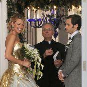 Gossip Girl : Blake Lively somptueuse et enivrante en robe de mariée