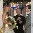 La superbe Blake Lively et Penn Badgley sur le tournage de la dernière saison de Gossip Girl à New York, le 16 octobre 2012