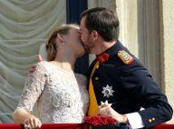 Mariage prince Guillaume - Stéphanie de Lannoy : Le baiser passionné des mariés