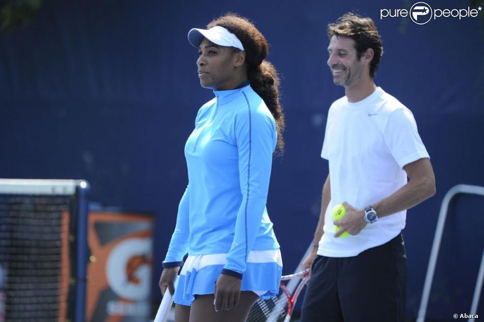 Serena Williams et Patrick Mouratoglou Serena Williams Patrick