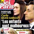 Le magazine  Ici Paris  sorti le 24 octobre 2012.