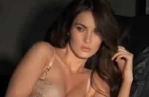 Megan Fox : En lingerie, sans doute la plus sexy des geeks !