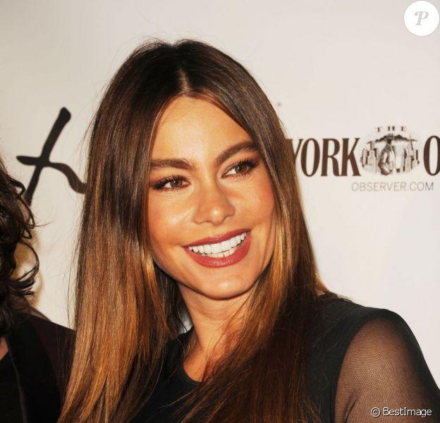 Sofia Vergara au lancement de la nouvelle collection de Domingo Zapata à New York, le 24 octobre 2012.