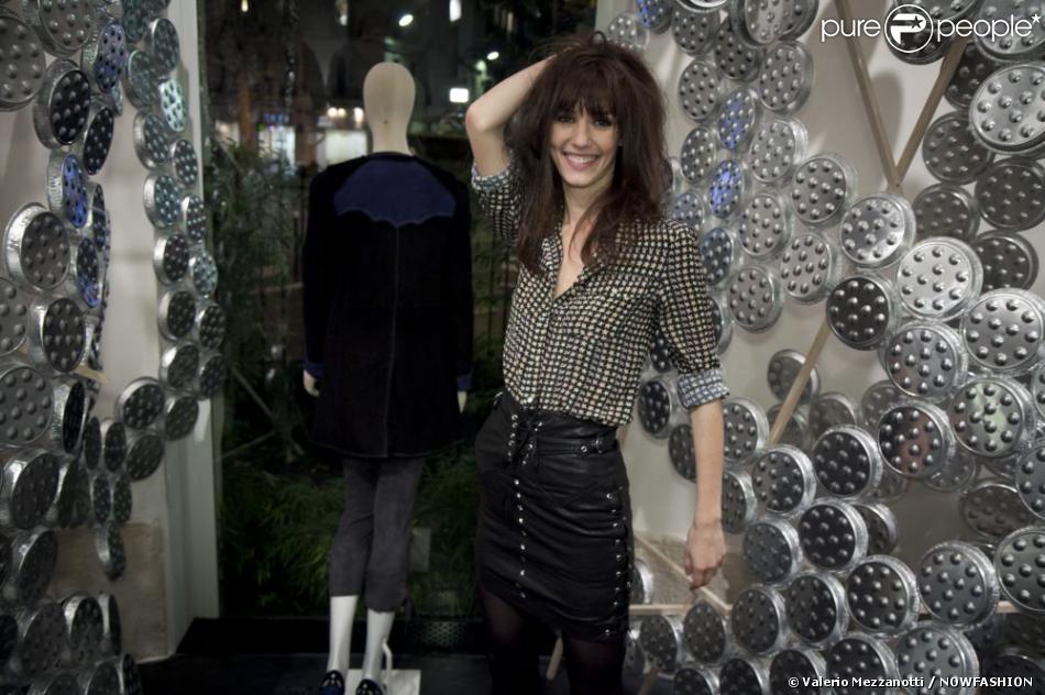 Doria tillier la soir e d 39 ouverture de la nouvelle boutique isabel mara - Boutique avenue victor hugo ...