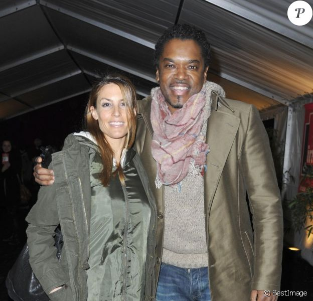 Anthony Kavanagh et sa femme Alexandra au Gala d'Ouverture du Cirque national Alexis Gruss à Paris le 29 Octobre 2012.