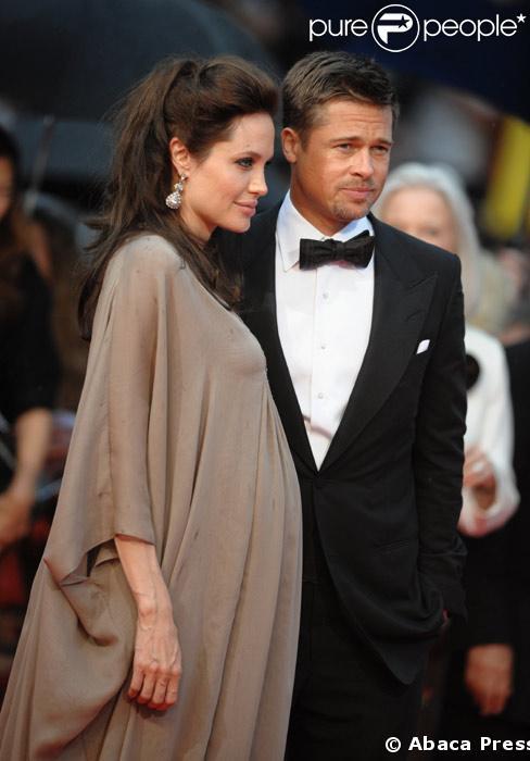 Angelina Jolie et Brad Pitt au festival de Cannes 2008
