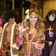 Jennifer Lopez et Casper Smart fêtent Halloween en Allemagne le 31 octobre 2012.