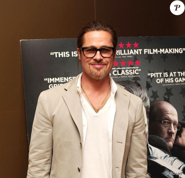 Brad Pitt à Londres le 6 septembre 2012