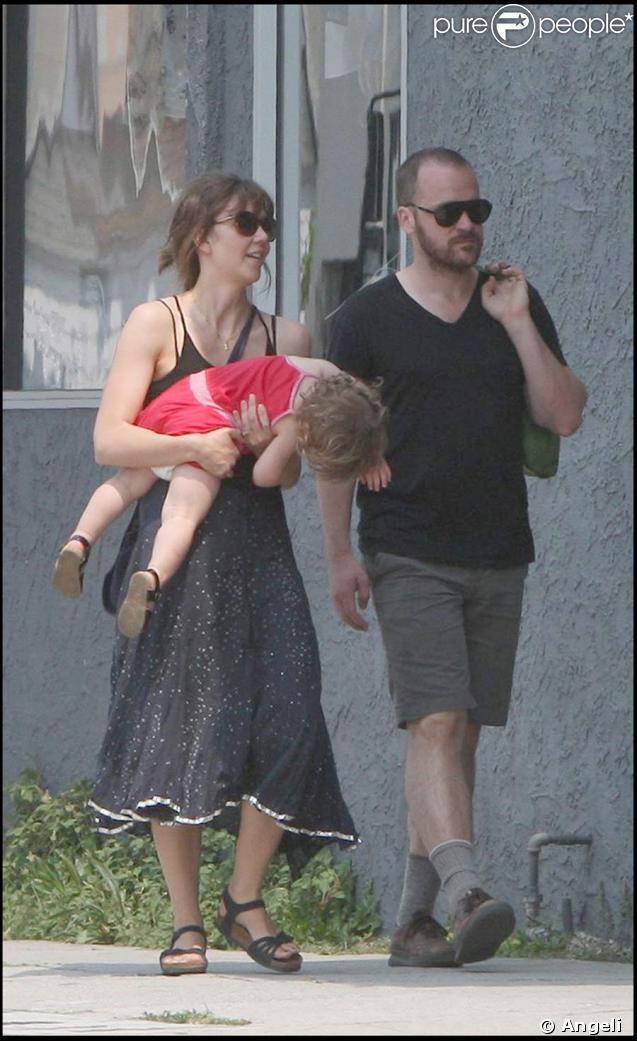 Maggie Gyllenhaal en famille
