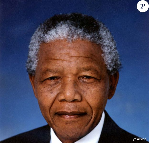 Nelson Mandela, en Afrique du Sud, le 30 novembre 1999.