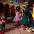 Sasha et Malia Obama célèbrent Noël avec style en décembre 2011
