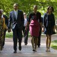Sasha et Malia Obama, jeunes filles au style impeccable, comme leur maman Michelle