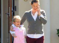 Jennifer Garner, citoyenne et mère modèle, a voté Obama avec l'adorable Violet