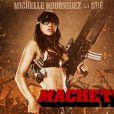 Michelle Rodriguez, athlétique et ultra violente dans  Machete , sera de retour pour cette suite.