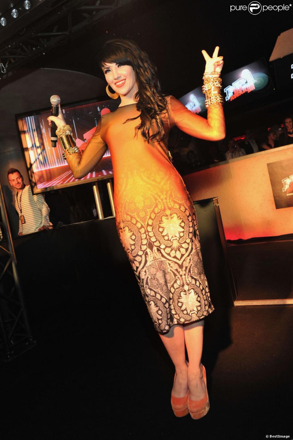 Tara McDonald lors de la 1e édition des NRJ DJ Awards, le 7 novembre 2012 au Club Life à Monaco.