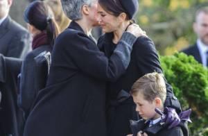 Princesse Mary: En larmes, anéantie avec Christian aux obsèques de son amie Tina