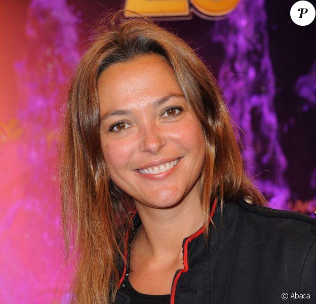 Sandrine Quétier à Disneyland Paris le 31 mars 2012