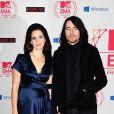 Lana Del Rey et son homme James O'Neil lors des MTV EMA's 2012 Europe Music Awards à la Festhalle de Francfort en Allemagne le 11 Novembre 2012