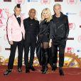 Tom Dumont, Tony Kanal, Gwen Stefani et Adrian Young de No Doubt lors des MTV EMA's 2012 Europe Music Awards à la Festhalle de Francfort en Allemagne le 11 Novembre 2012