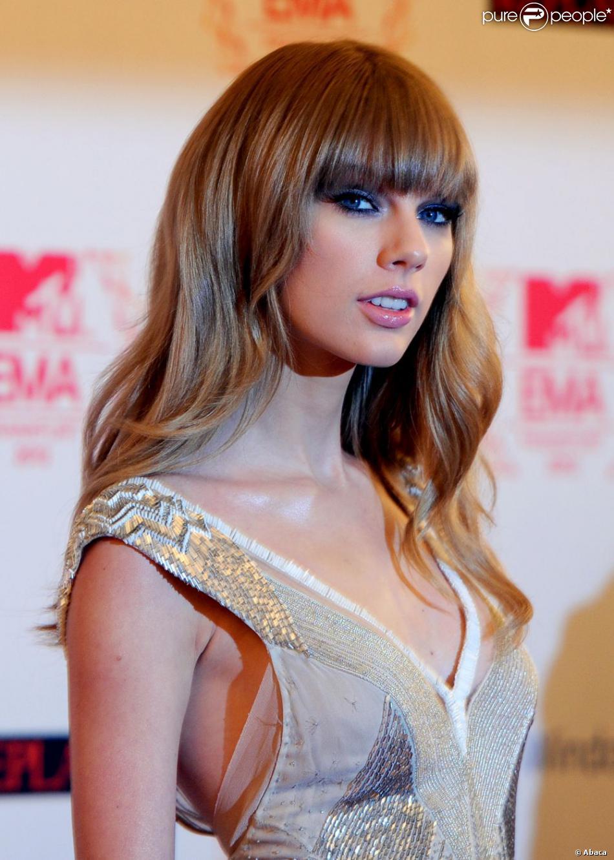 Taylor Swift lors des MTV EMA's 2012 Europe Music Awards à la Festhalle de Francfort en Allemagne le 11 Novembre 2012