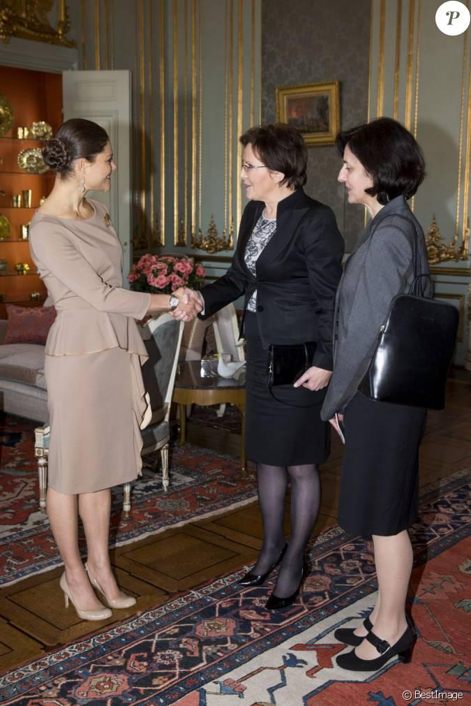 La princesse h riti re victoria de suede recevait le 13 for Chambre basse parlement