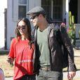 Kellan Lutz et sa petite amie Sharni Vinson à Santa Monica le 13 novembre 2012.