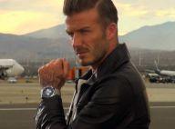 David Beckham : Veste en cuir et montre à 10 000 euros pour le footballeur