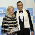 Invités à la soirée de gala au profit de l'Association monégasque contre l'autisme MONAA, dont la princesse Charlene est la présidente d'honneur, au Sporting d'été de Monte-Carlo, le 15 novembre 2012.