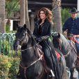 Shania Twain, cavalière de choc, annonce son retour sur scène au Caesars Palace de Las Vegas le 14 novembre 2012.