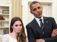 Barack Obama : Concours de grimaces avec McKayla Maroney à la Maison Blanche