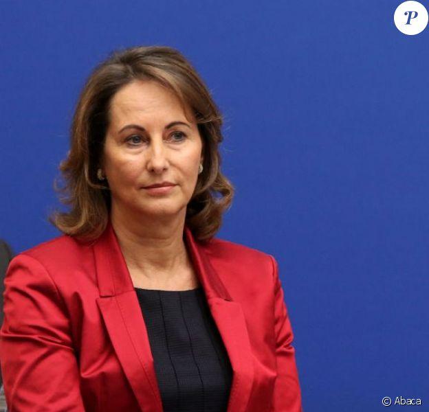 Ségolène Royal à Paris le 30 octobre 2012
