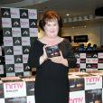 Susan Boyle présente son nouvel album Standing Ovation à Glasgow le 20 novembre 2012.