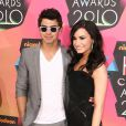 Demi Lovato et Joe Jonas aux Kids Choice Awards à Los Angeles le 27 mars 2010.