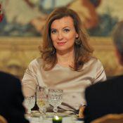 Valérie Trierweiler assume son rôle de Première dame lors d'un dîner à l'Elysée