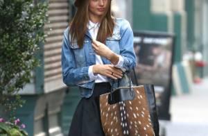 Miranda Kerr : Look sexy pour la jeune maman en solo