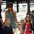 Nicole Richie, stylée pour escorter sa fille Harlow, quatre ans, à un concert au Nokia Theater. Los Angeles, le 24 novembre 2012.