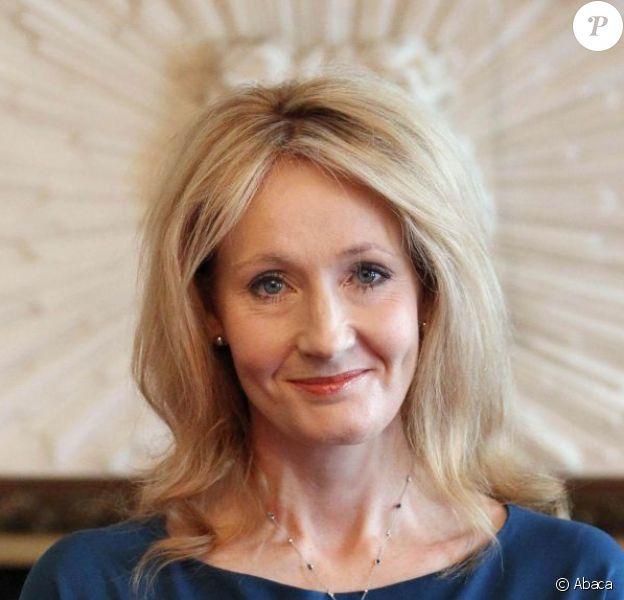 J.K. Rowling à Londres, 8 mai 2012.
