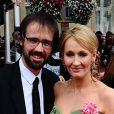 J.K. Rowling et son mari Neil Murray à Londres le 7 juillet 2011.