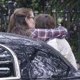 Les parents de Jennifer Garner quittent le domicile de leur fille après leur visite pour Thanksgiving à la Nouvelle-Orléans, le 26 novembre 2012.