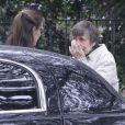 La mère de Jennifer Garner, très émue, quitte le domicile de sa fille après sa visite pour Thanksgiving à la Nouvelle-Orléans, le 26 novembre 2012.