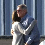 Harrison Ford : Tendre avec Calista Flockhart et complice avec son fils
