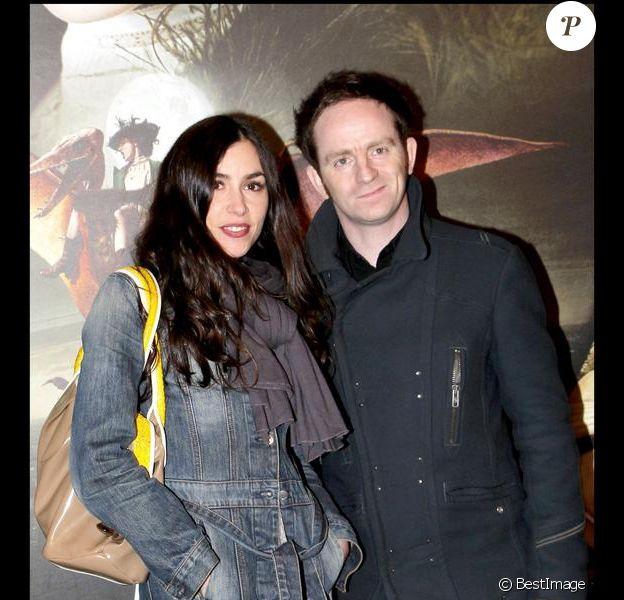Mathias Malzieu et Olivia Ruiz en avril 2010 à l'avant-première des Aventures extraordinaires d'Adèle Blanc-Sec