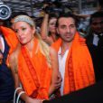 Paris Hilton à Bombay le 3 décembre 2012.