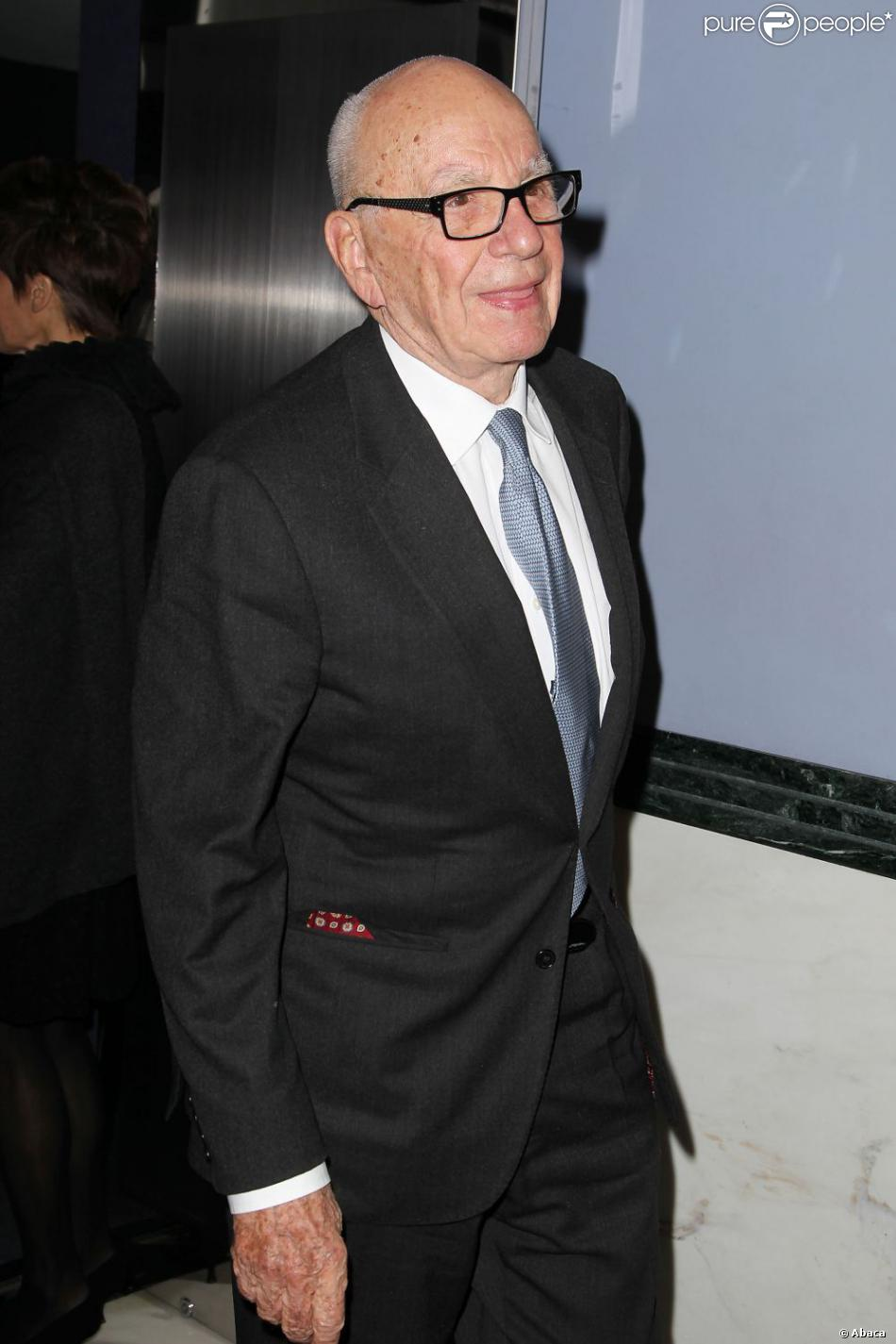 Rupert Murdoch à New York le 5 novembre 2012.